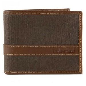 Timberland Leather Wallet Baseline Passcase Wallet